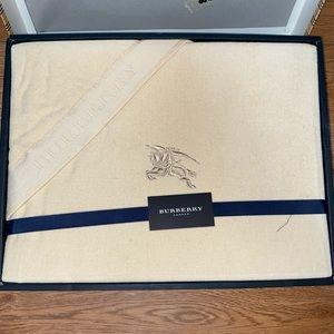 Brand new Burberry large towel blanket